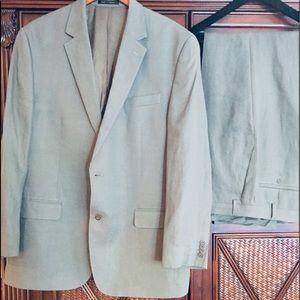 Michael Kors men linen suit